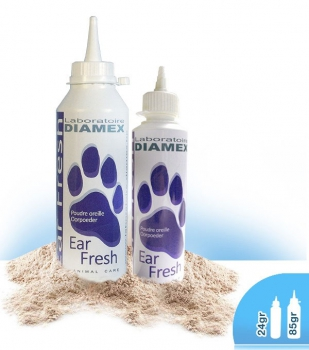 Diamex Ohrpuder Ear Fresh 85gr