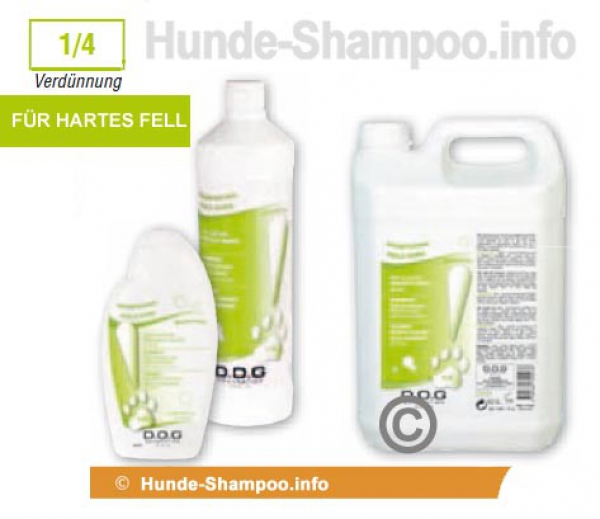 hunde dog g n ration shampoo kr ftigendes pflegeshampoo f r hartes fell 1l. Black Bedroom Furniture Sets. Home Design Ideas