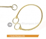 Showkette Gold 35cm x 2,5 mm